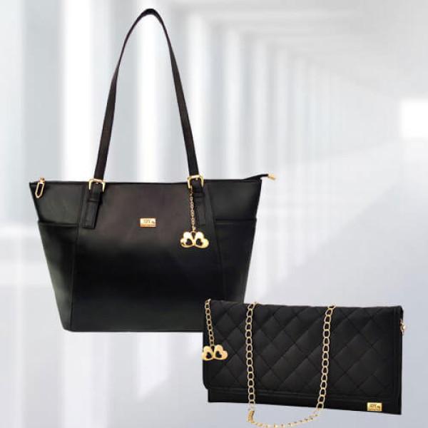 AP Zinnia Black Bag