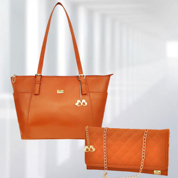 AP Zinnia Tan Bag