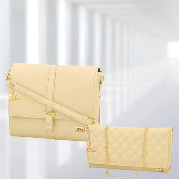 AP Scarlett Cream Bag