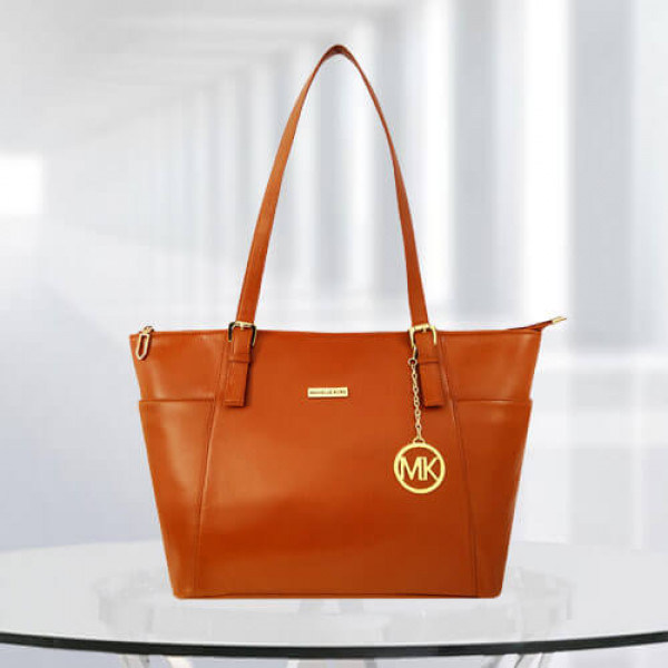 MK Zinnia Tan Color Bag