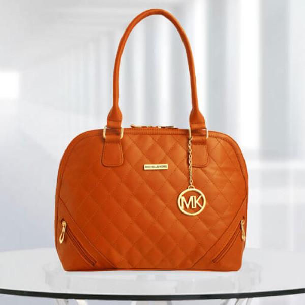 MK Sophia Tan Color Bag