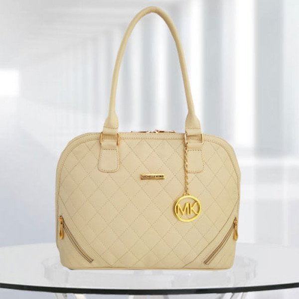 MK Sophia Cream Color Bag