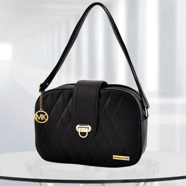 MK Black Color Baghandbag