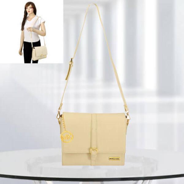 MK Scarlett Cream Color Bag