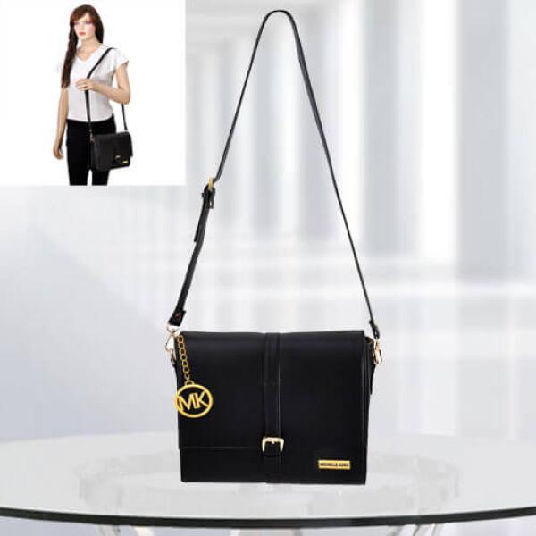 MK Scarlett Black Color Bag