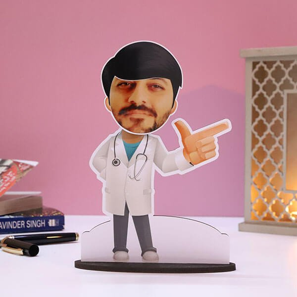 Customised Male Doctor Caricature