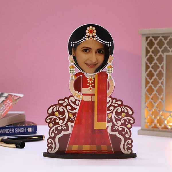 Customised Dulhan Caricature