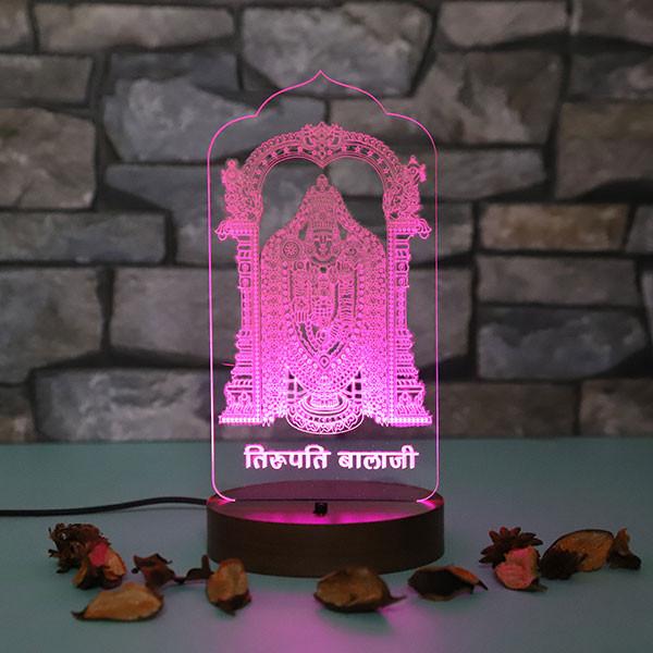 Personalised Tirupati Led Lamp