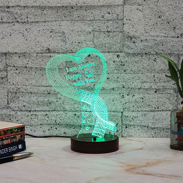 Happy With You Led Lamp