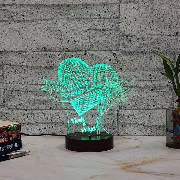 Forever Love Led Lamp