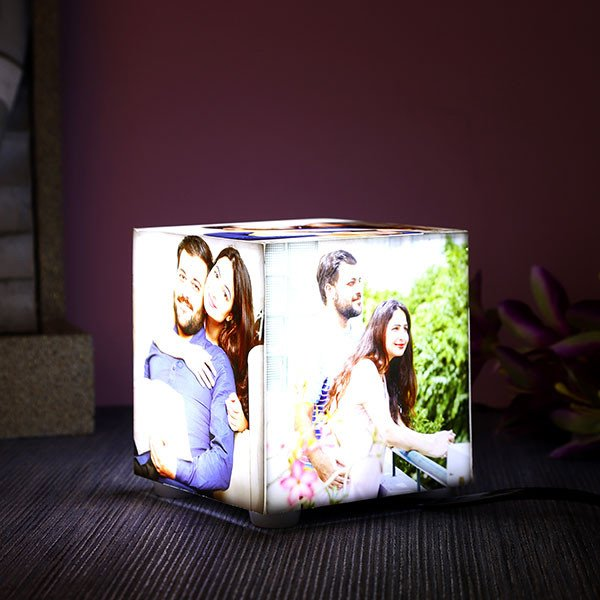 Personalised Five Sides Acrylic Photo Lamp
