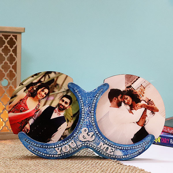 Personalised You & Me Photo Frame