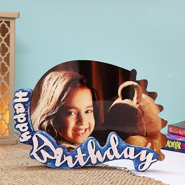 Personalised Birthday Photo Frame