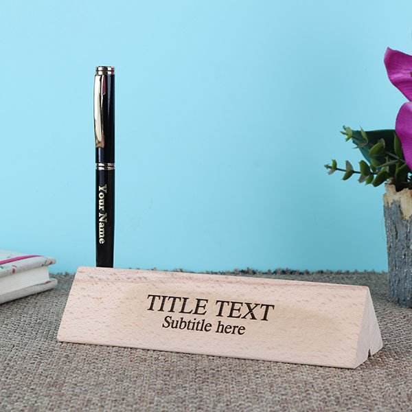 Personalised Royal Pen In A Beautiful Engraved Box