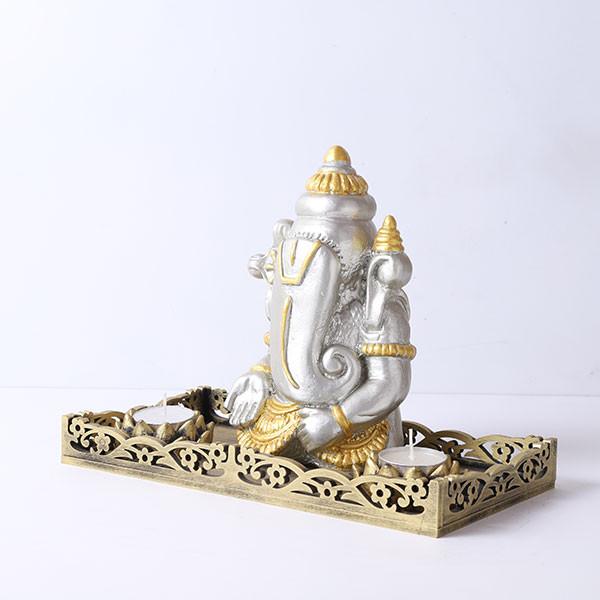 Ganpati Gift Set With Tray