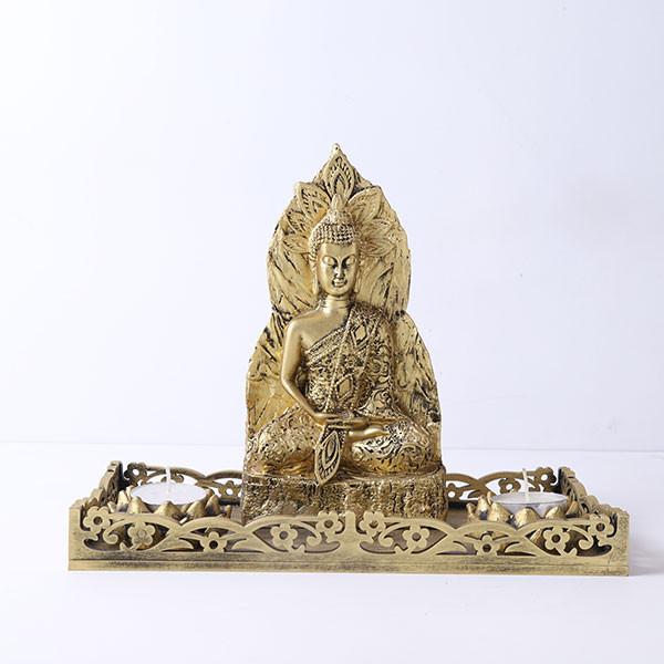 Antique Meditating Buddha Gift Set