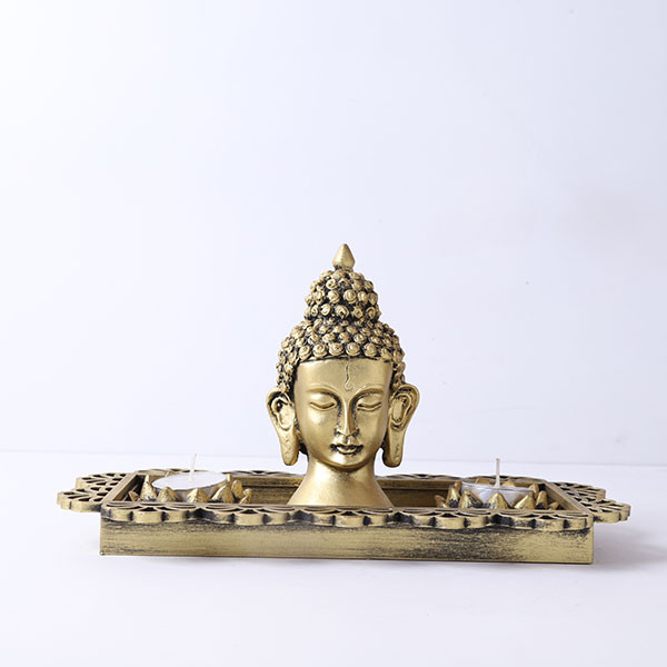 Buddha Head Gift Set
