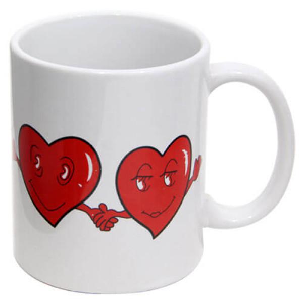 Heart Design Mug