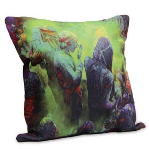 Special Holi Cushion