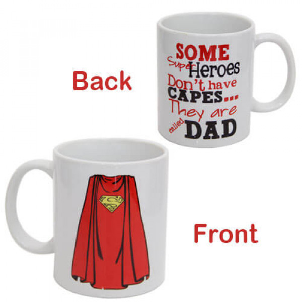 Superhero Dad Ceramic Mug