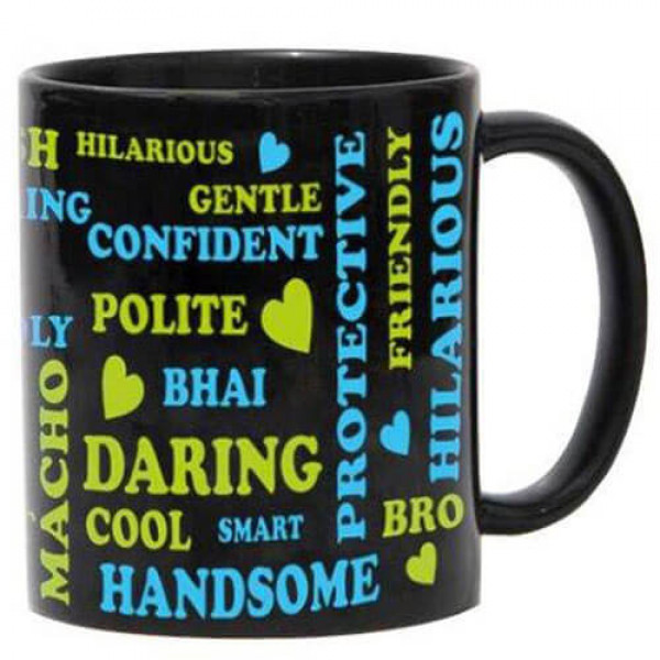 Mug For Brother with Ceramic Material