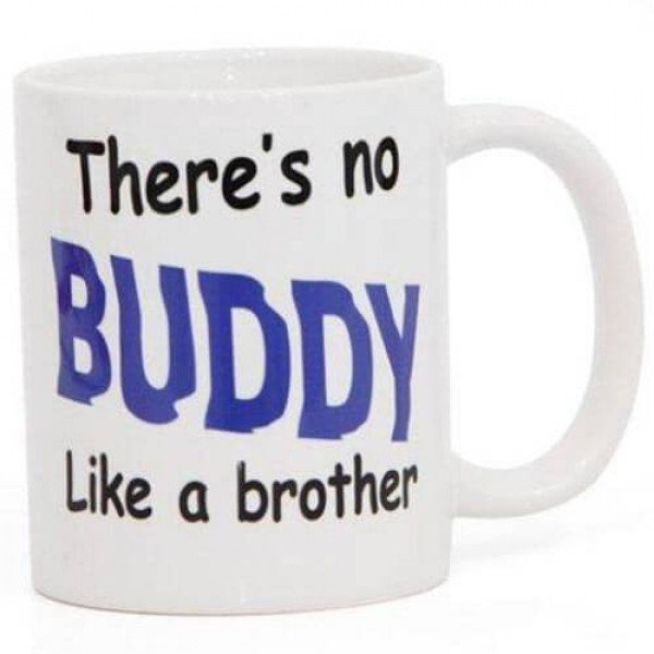 Printed Mug For Brother with Ceramic Material