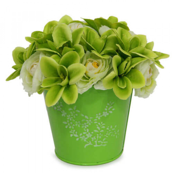 The Green Flower Arrangement