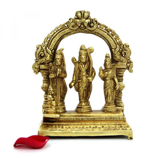 Ram Darbar Brass Idol