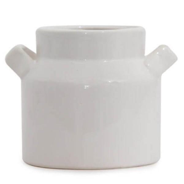 White Vase Planter