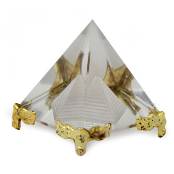 Feng Shui Crystal Pyramid