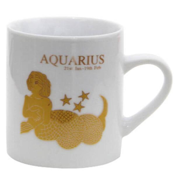 Aquarius Sunsign Ceramic Mug