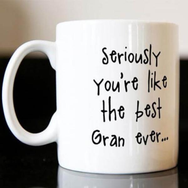 Personalised Mug - The Best Gran Ever