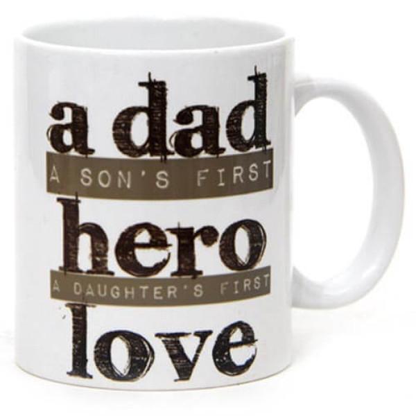 My Dad My Hero Ceramic Mug