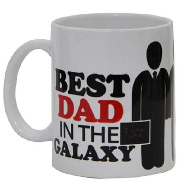 Best Dad White Ceramic Mug