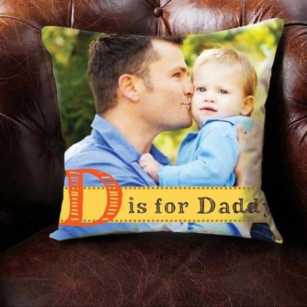 Personalize Photo Cushion