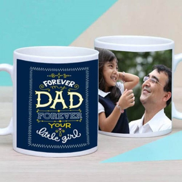 Personalize Forever My Dad Mug