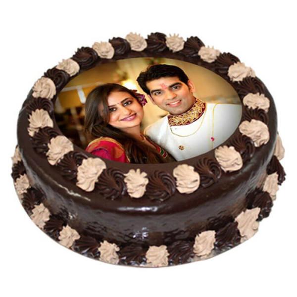 Choco Photo Cake 1 Kg
