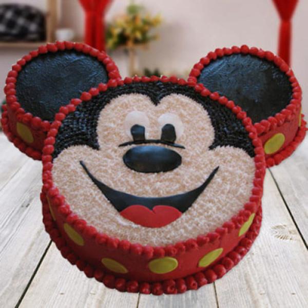 Mickey Mouse Shape Cake