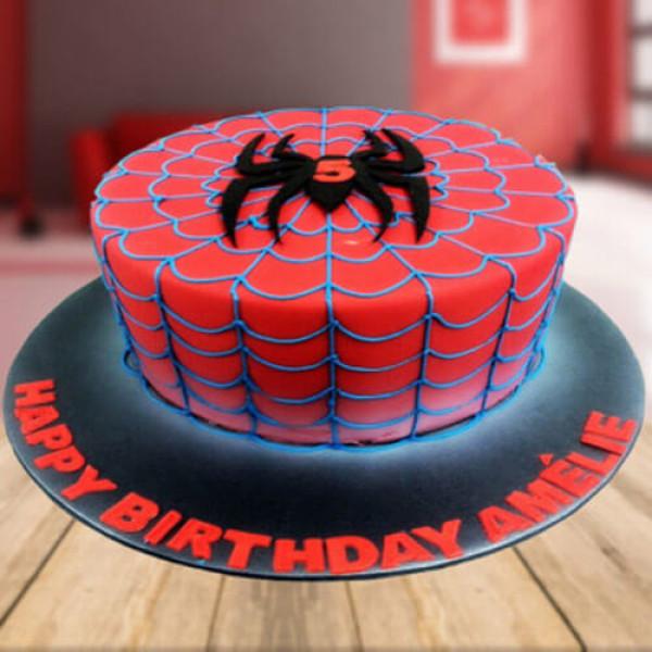 Spider Love Cake