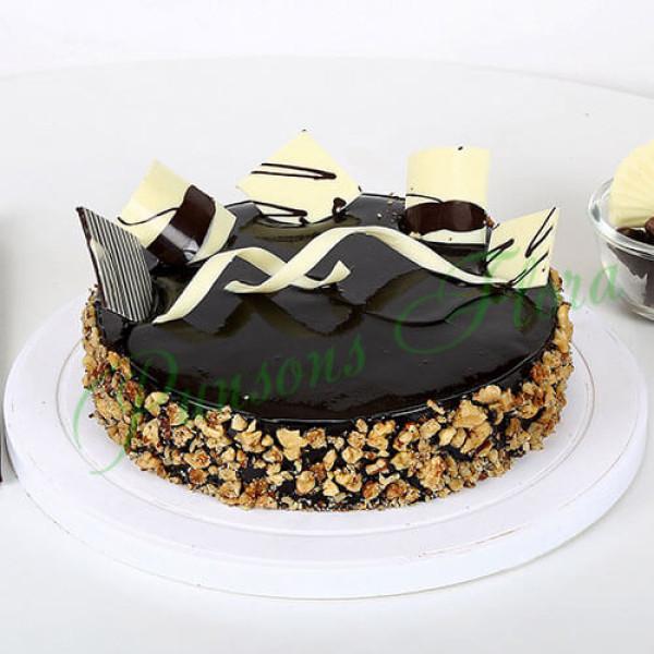 Chocolate Walnut Truffle Eggless