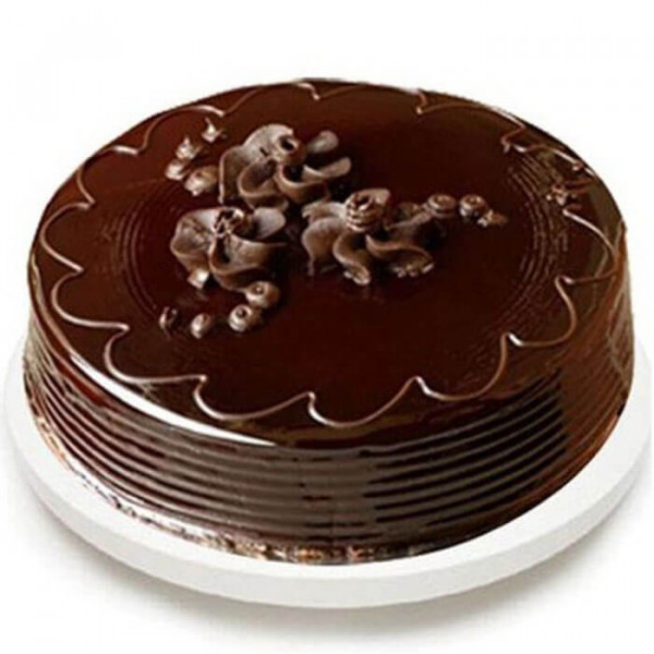 Round Special Chocolate Truffle Cake