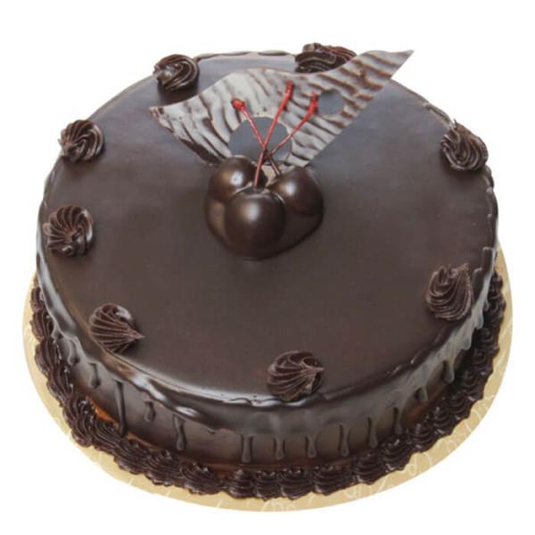 Cream Chocolate Truffle Cake