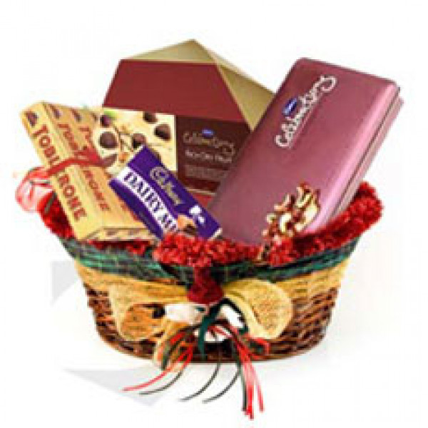 Chocolate Gift Basket - Birthday Gift Ideas For Her