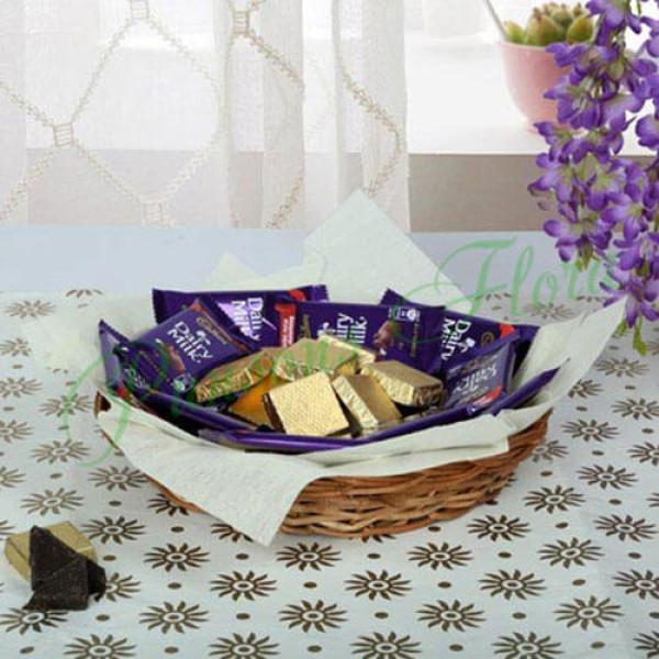 Chocolaty Wish Basket