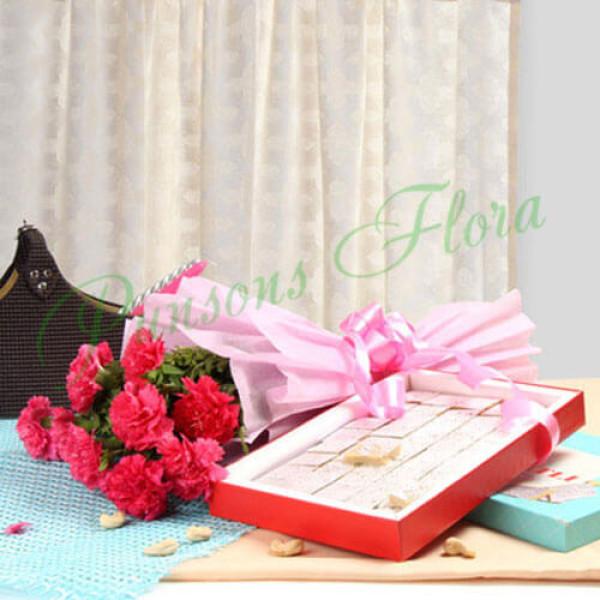 Fathers Day Spl Carnation Beauty