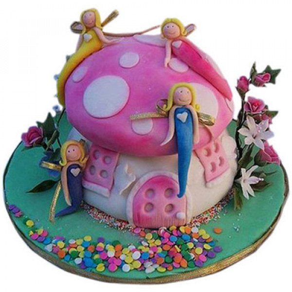 Little Angels Cake - Birthday Cake Online Delivery
