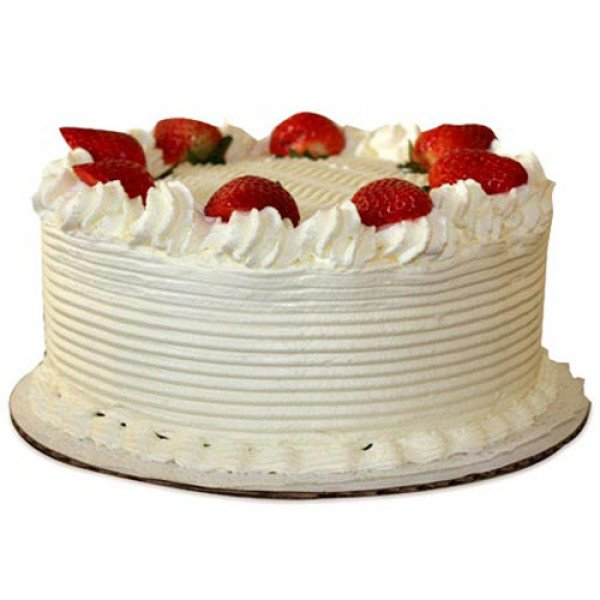 Five Star - Strawberry Cake - Birthday Cake Online Delivery