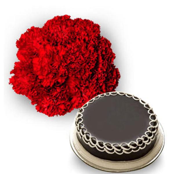 Carnations n Cake