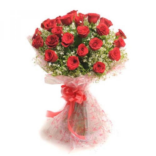 Rosy Romance 25 Red Roses