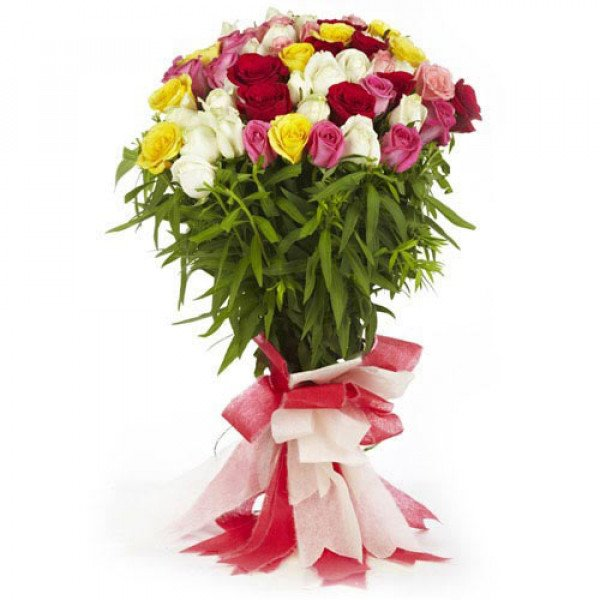 With Love 60 Mix Roses